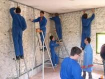 ремонт стен помещений Пермь